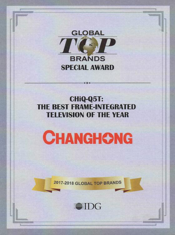 CHiQ-Q5T AWARD